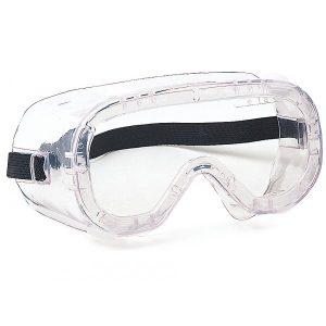 Lunettes-masque. Ventilation indirecte