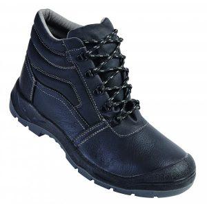 Chaussures hautes de sécurité avec renfort avant. Cuir