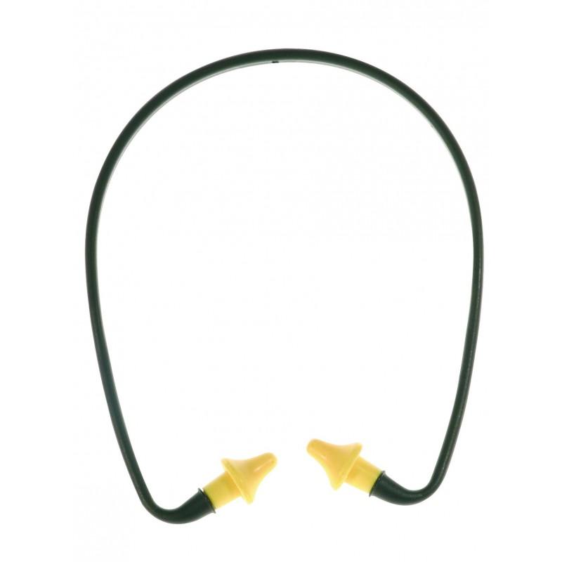 Bouchons d'oreille en polyuréthane avec arceau