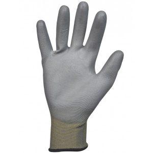 Gant polyuréthane (PU). Support polyester