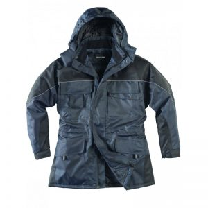 Parka polyester twill Oxford enduit PU